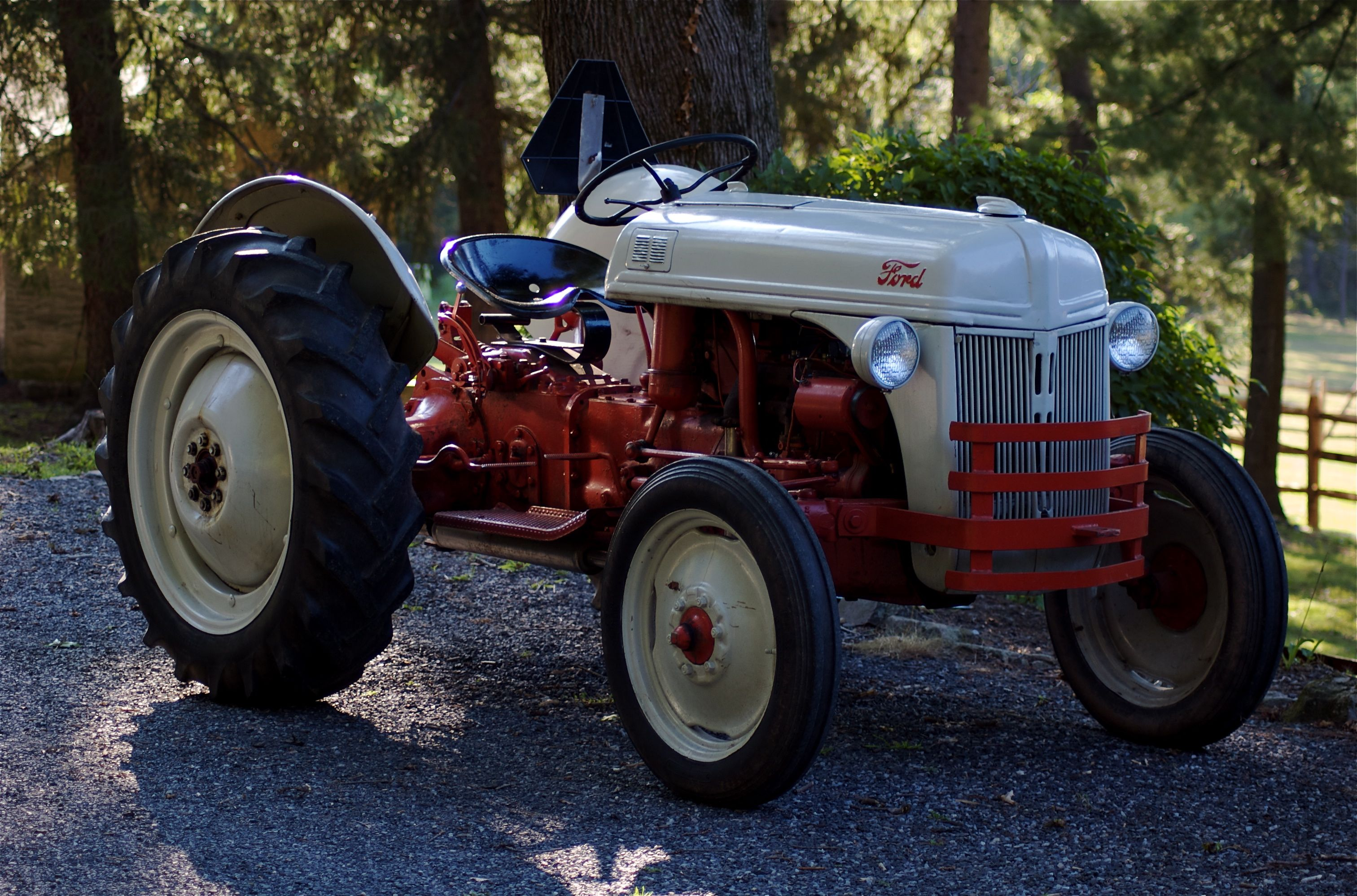 This Is My Wife S 1949 Ford 8n Tractor We Ve Had It Since